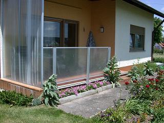 Windschutz Aus Plexiglas ~ Haus